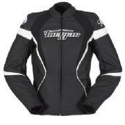 Furygan Xenia Racing Lady Jkt blk/wht